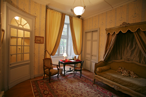 Anti-Chambre - Tower room of the château de Beaujeu
